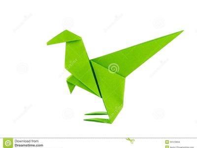 Origami dinosaurio, Como hacer dinosaurio de origami?