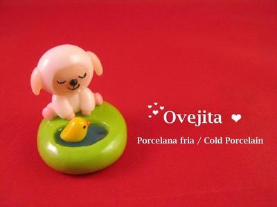 Ovejita En Porcelana Fria. Cold Porcelain