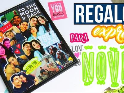 REGALO EXPRESS PARA NOVIO♥♥ PORTARRETRATO (TUTORIAL). MARIANA LUGO