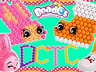 Shopkins Beados ❤ 550 Beads de Colores Con Plantillas de Shopkins Crealos Tu Mismo