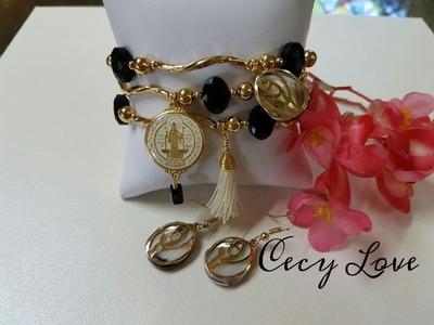Tips para cerrar tus pulseras con elastico y decorarlas con Cecy Love Bisuteria