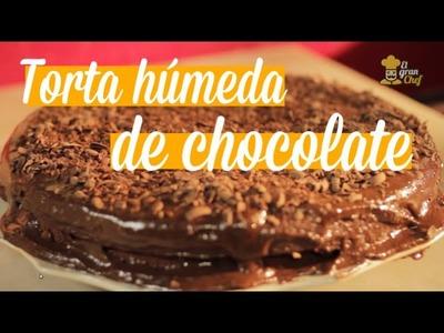 Torta húmeda de Chocolate | Recetas con chocolate | iMujer