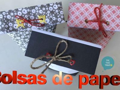 Bolsas de papel para fiestas