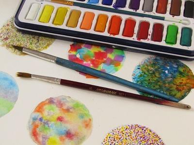 Cómo pintar con acuarelas (facturas 2)