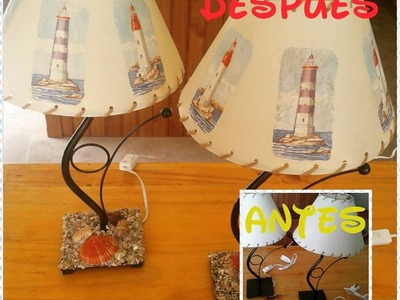 DIY Veladores con aire marino