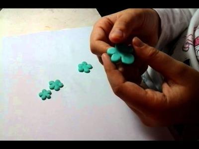 Flores de porcelana fria (principiantes)
