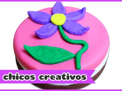 Torta o Pastel de Plastilina | HooplaKidz Chicos Creativos