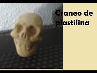 Tutorial calavera de plastilina
