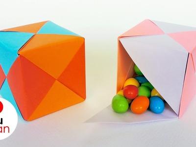 Cajas de Papel para Dulces - Origami Modular | JuanTu3