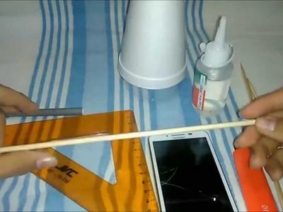 Como hacer un trípode casero para celular