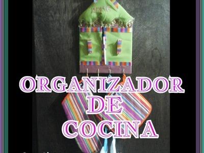 Organizador para la cocina. Los Hobbies de Yola. Kitchen organizer