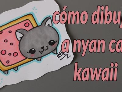 Cómo dibujar a nyan cat kawaii