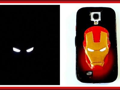 Cómo hacer una funda para el celular de Iron Man   Pablo Inventos