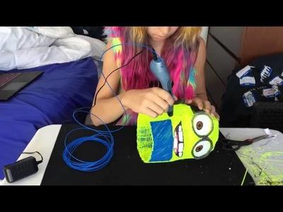 Haz un Minion Gigante con el lapicero 3D