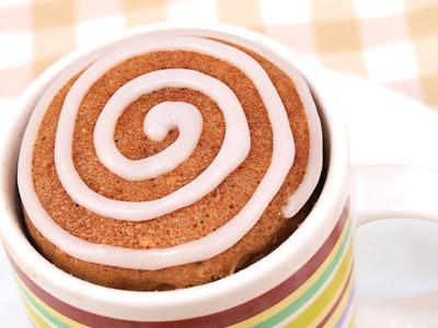 Mug Cake de Canela | Cinnamon Rolls | 1 Minuto en el Microondas!