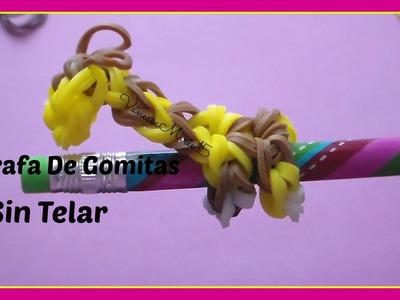 ♥Tutoriales: Jirafa De Gomitas (Sin Telar)♥