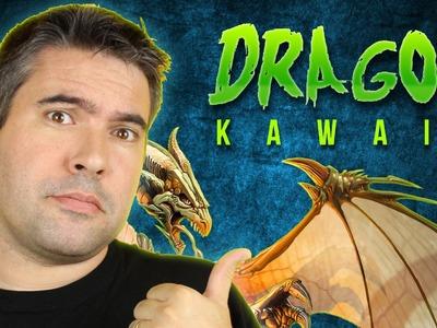 COMO DIBUJAR DRAGON KAWAII PASO A PASO - Dibujos kawaii faciles - How to draw a DRAGON