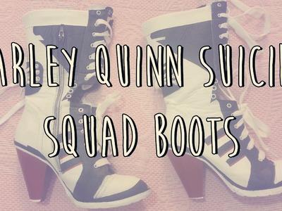 Cómo hacer las botas harley Quinn Suicide Squad
