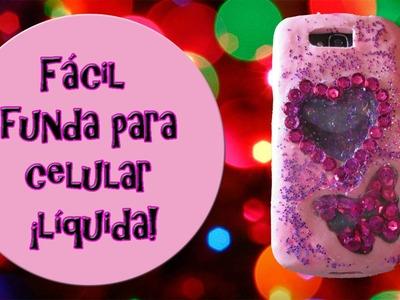 DIY funda para tu celular ¡LIQUIDA!  | Fácil y bonita