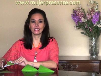 Manualidades con Beatriz Guajardo, Guirnalda de banderines para cumpleaños