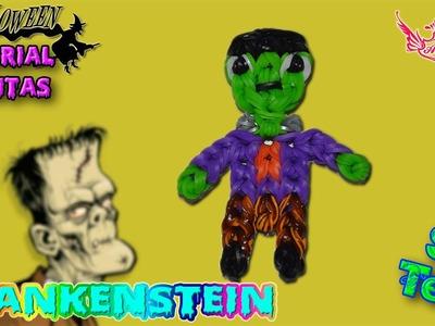 ♥ Tutorial Halloween: Frankenstein de gomitas (sin telar) ♥