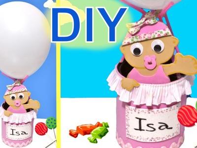 Bebé de goma Eva para decorar o regalar o poner lápices.