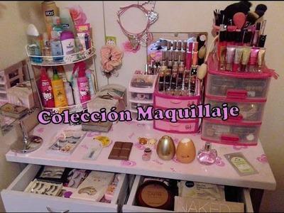 ♥ Colección y organización de maquillaje 2016 ♥
