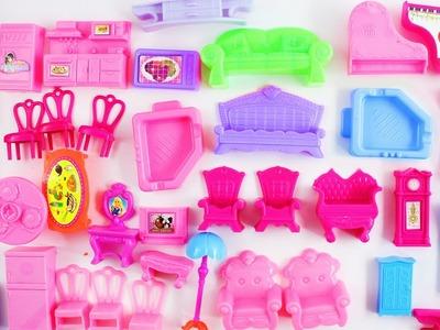 Compras para mi CASITA DE MUÑECAS - Muebles, cama, sillas, refrigerador, estufa, etc