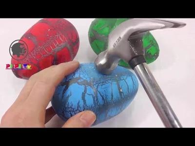 Juguetes Huevos kinder sorpresa dinosaurios para ninos - videos de juguetes de bebes, Infantiles