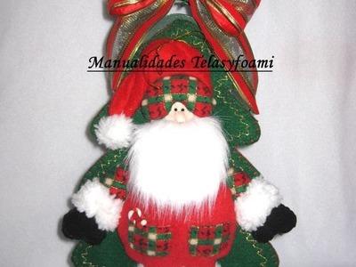 Muñecos navideños, Porta vino navideño, christmas decor, parte 1
