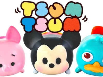Tsum Tsum Paquetes Para Apilar Misteriosos Mickey Mouse Winnie The Pooh Phineas y Ferb