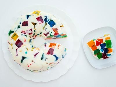 Cómo hacer gelatina mosaico