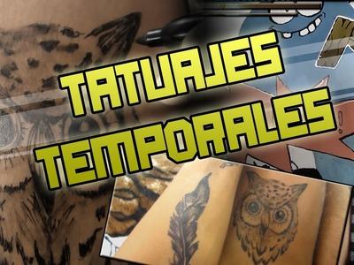 Como hacer un tatuaje temporal | Mi tecnica  | Ivan Ante