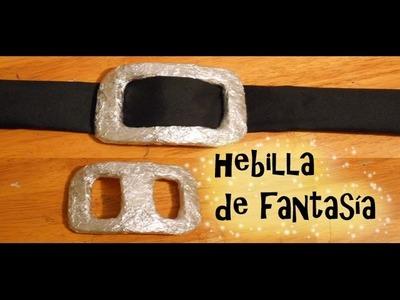 Cómo hacer una HEBILLA de FANTASÍA disfraces vestuarios TUTORIAL  inerya viris