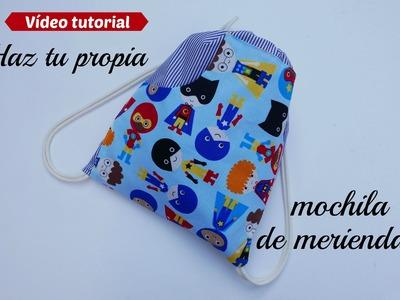 DIY : Haz una mochila para niños en la vuelta al colegio