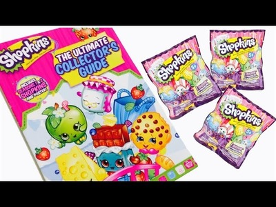 SHOPKINS,juguetes en español,libro de shopkins y bolsitas sorpresa de shopkins
