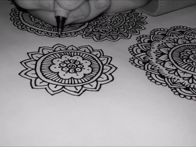 Zentangle Art ~ Mandalas! P.2