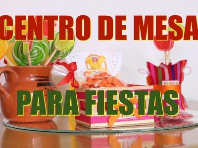 Centro de Mesa para Fiestas Mexicanas