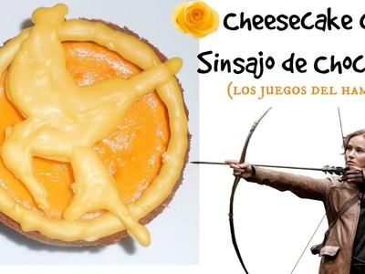 *Cheesecake con Sinsajo de Chocolate (Los Juegos del Hambre)