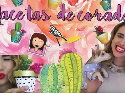 ¡DECORACIONES CON PLANTAS! (DIY) ♥