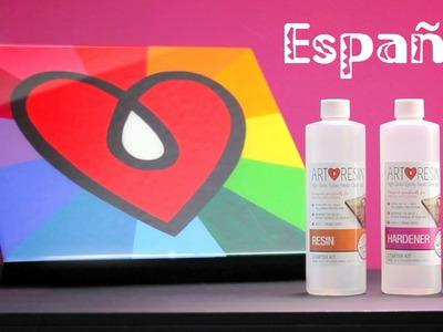 Capa transparente de resina epoxi para obras de arte: ArtResin®