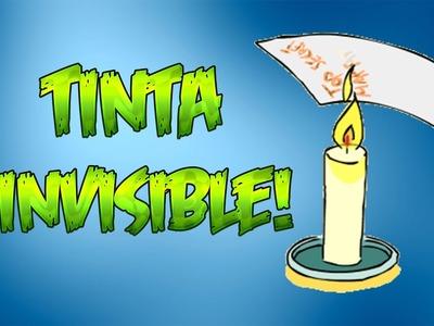 Como hacer tinta invisible   Mensajes ocultos!