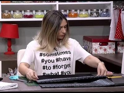 Como hacer una cartera feminina -12.04.16 - 1a parte