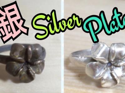 Receta casera ★ Como limpiar la PLATA con SAL y Pasta de dientes sin bicarbonato!