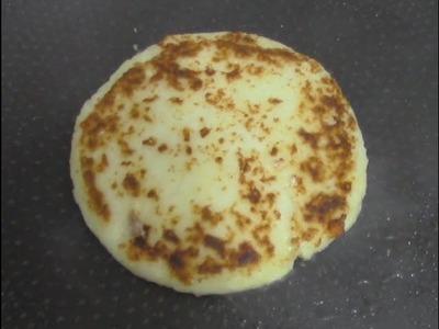 Arepas - arepas de maiz  - como hacer arepas de queso - arepas colombianas