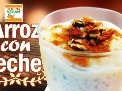Arroz con leche (sin lactosa) - Cocina Vegan Fácil
