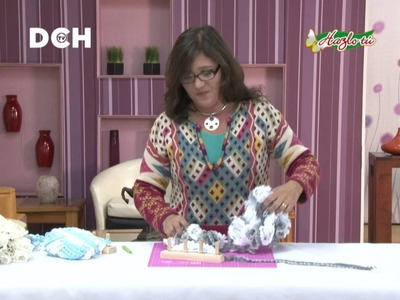 Bufanda Fácil con telar de 4 Postes - Yasna Pino - Casa Puchinni