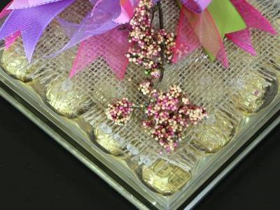 Caja de Chocolates.Decoracion By Gaby Delgado