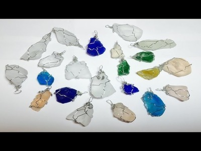 Como Envolver Cristales de Mar con Alambre