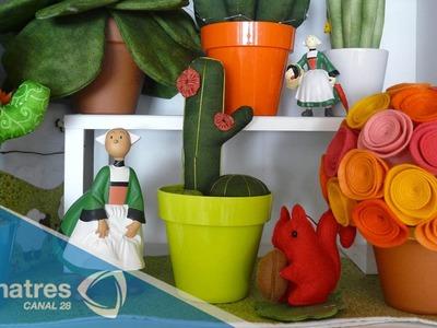 Cómo hacer una lámpara en forma de cactus rápido y fácil